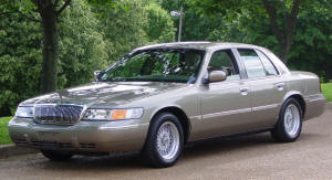 2002 Mercury Grand Marquis LSE